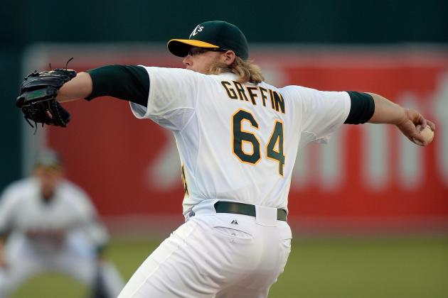 Griffin, Not Colon, to Open Second Half for A's