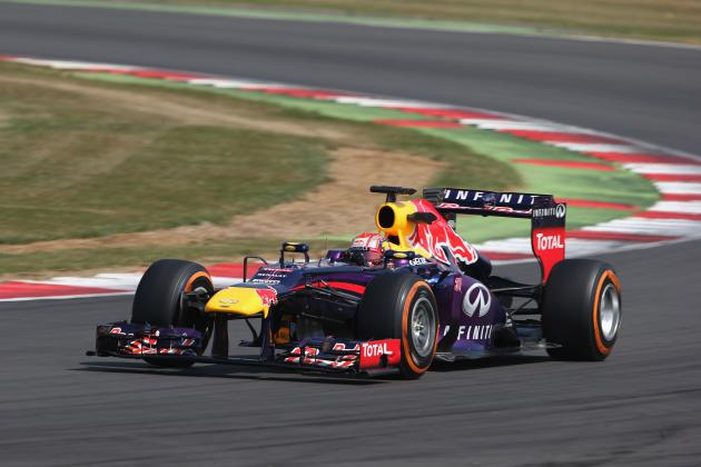 Formula 1: Times from Day 1 of the 2013 Young Driver Test at Silverstone