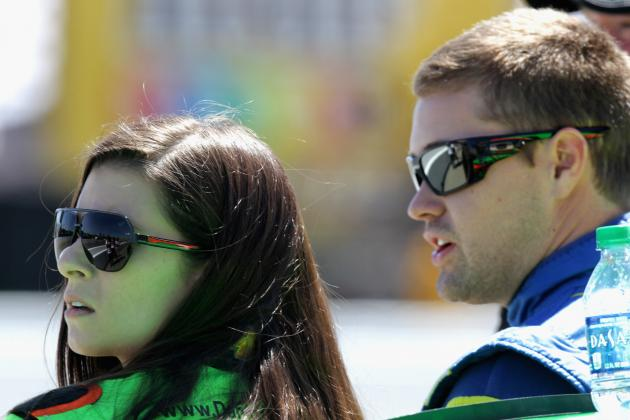 Danica Says She Slept on Couch After Wrecking Boyfriend Ricky Stenhouse Jr.