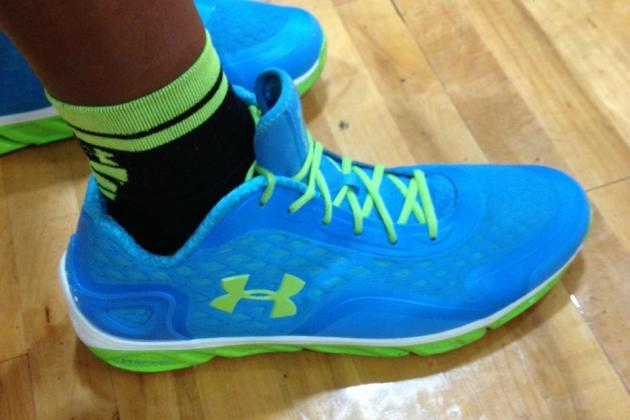 Everyone Come Stare at Basketball Prospect Myles Turner's Enormous Feet