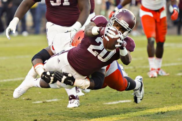 Texas A&M Football: Biggest Positional Battles Entering 2013 Season