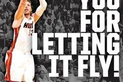 Heat Full-Page Ad Salutes Mike Miller