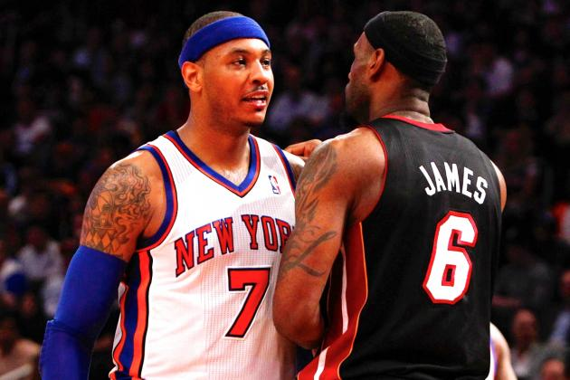 Carmelo Anthony, Not LeBron James, Is Likely for Lakers' Post-Kobe Bryant Era