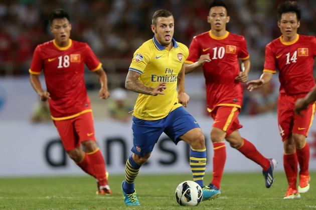 Why 2013-14 Will See Jack Wilshere Fulfil His Potential in Arsenal's Midfield