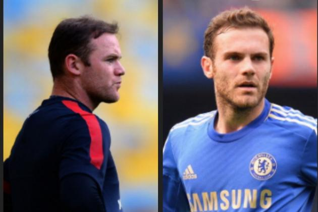 Manchester United: Why Club Should Swap Wayne Rooney for Chelsea's Juan Mata