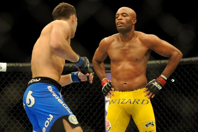 Anderson Silva Has Nothing to Gain from Rematch with Chris Weidman