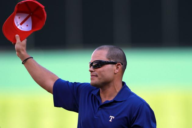 Pudge Set to Be Inducted into Rangers HOF