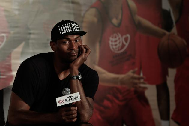 How Metta World Peace's Exit Stacks Up with Odom and Fisher's Lakers Goodbyes