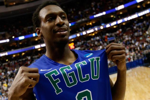 FGCU Wins 'Best Upset' ESPY for Win vs. Georgetown in 2013 NCAA Tournament