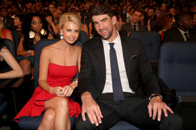 Michael Phelps' Girlfriend Win McMurry Steals Show at 2013 ESPY Awards