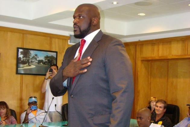 Golden Beach Swears in Its New Cop: Shaquille O'Neal