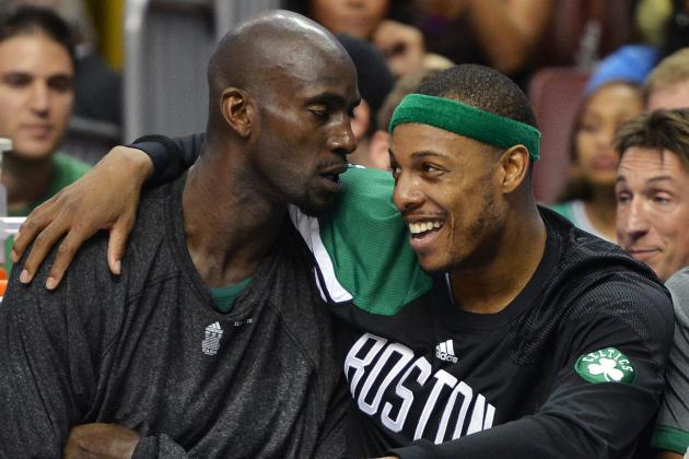 Old Friends Garnett and Pierce Try to Bring Brooklyn a Title Together