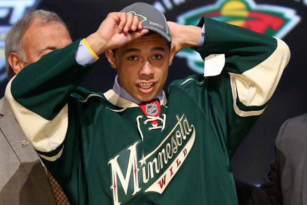 Promising Matt Dumba Hoping His Time Is Now with Minnesota Wild