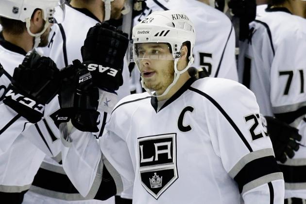 Kings Captain Dustin Brown Agrees to Eight-Year Contract Extension