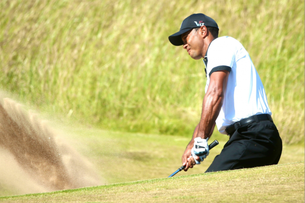 Tiger Woods at British Open 2013 Tracker: Day 1 Score, Highlights, and Analysis