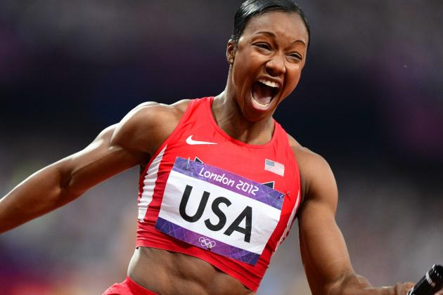 Video: Carmelita Jeter Walks out of Press Conference After Doping Question