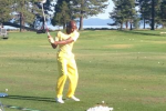 Ray Allen Busts Out All-Yellow Outfit for Golf Tourney