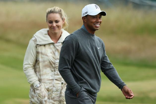 Lindsey Vonn Poses for Vogue: Skier Talks Tiger Woods, Injury and Marriage