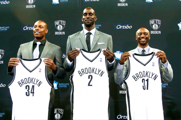 Best Quotes, Highlights of Paul Pierce-Kevin Garnett Brooklyn Nets Introduction