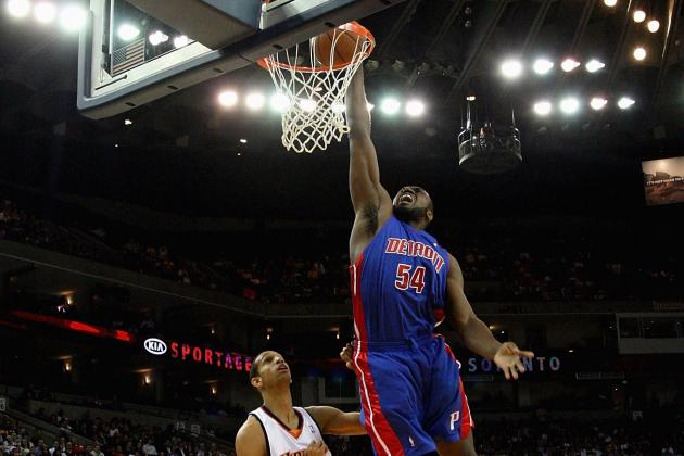 2013 NBA Free Agency: Orlando Magic Sign Detroit Pistons Forward Jason Maxiell