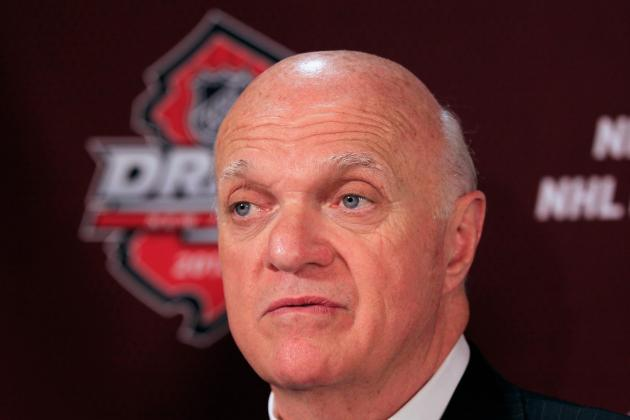 Lamoriello Getting Good Look at Prospects
