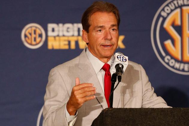 Nick Saban Perfectly Spells Out Right Way to Handle Disciplining Players