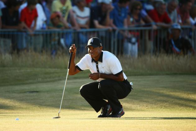 Tiger Woods Will Contend at British Open After Strong Showing in Round 1