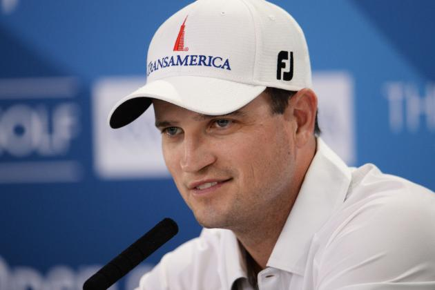 Zach Johnson Leads After First Round at Muirfield
