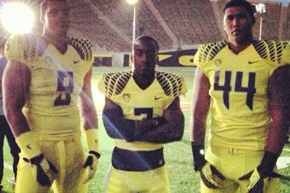 Oregon Corner Dior Mathis Tweets Oregon's Newest and Brightest Uniform