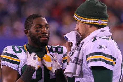 Aaron Rodgers Getting Used to Life Without Donald Driver, Greg Jennings
