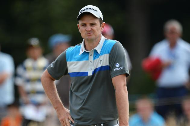 The Open 2013: Justin Rose Says Course 'Plays Tricks with Your Mind'