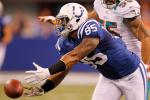Colts' TE Saunders Suspended 8 Games for PED Policy Violation