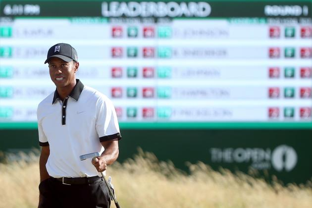 British Open Scores 2013: Tiger Woods and Players Ready for Day 2 Surge