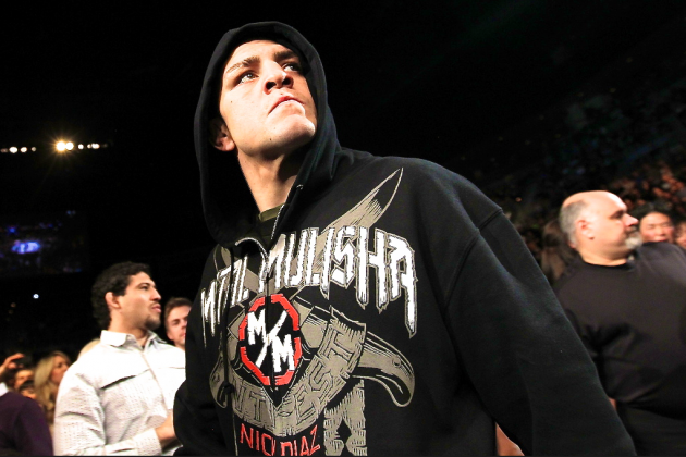 Dana White Claims No One at the UFC Has Spoken to Nick Diaz's Camp
