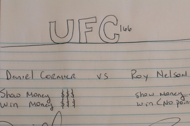 Daniel Cormier Tweets UFC 166 'Contract' to Roy Nelson