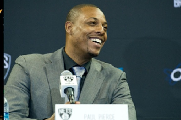 Instagram: Pierce Announces #HelloBrooklyn