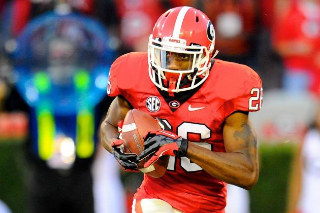 Georgia Football: Why the Bulldogs Have the Best Receivers, Tight Ends in SEC