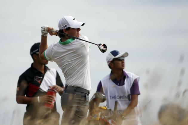 British Open 2013: Biggest Shockers from Round 1 Action at Muirfield