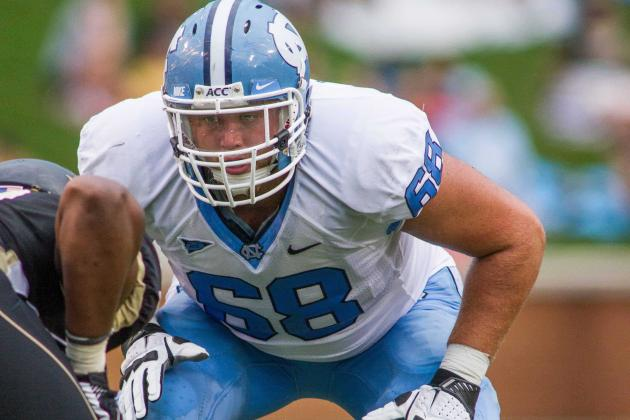 UNC Offensive Line Faces Tough Task to Start