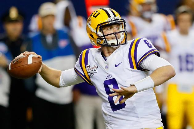 It's Now or Never for LSU Senior Quarterback Zach Mettenberger
