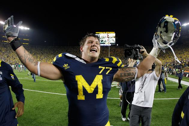U-M's Taylor Lewan Ranked Ninth Among Most Talented College Players