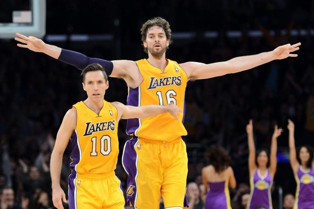 Imagining a Lakers Offense Built Around Steve Nash and Pau Gasol