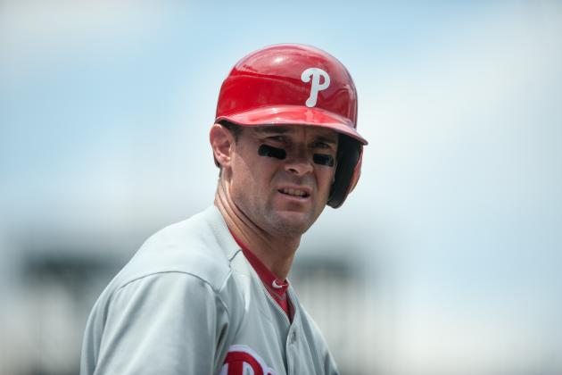 Phillies Trade Rumors: Team Should Consider Trading Michael Young at Deadline