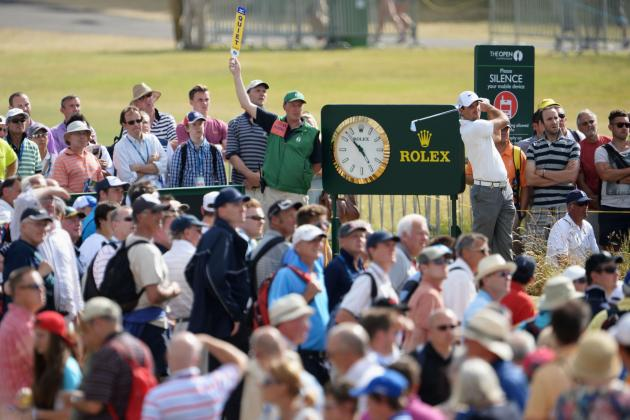 British Open 2013 Pairings: Full Schedule of Day 2 Tee Times and Coverage Info