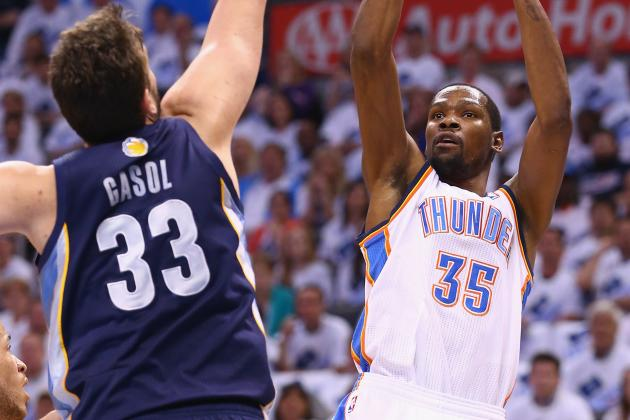 Thunder to Get Cash for Change to Durant's Deal