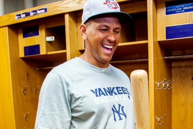 Rapid Reaction: A-Rod Powers Two-Run Shot