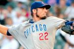 Report: Rangers Close to Acquiring Cubs' Matt Garza