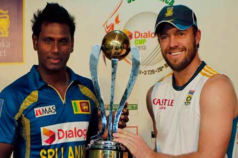 South Africa, Sri Lanka Seek One-Day Revival