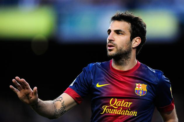 Manchester United Transfer News: Barcelona Claims Cesc Fabregas Not for Sale
