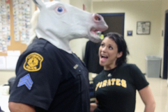 PORN STAR BUSTED My Sexy Unicorn Dance  SCREWED a COP ... SORRY